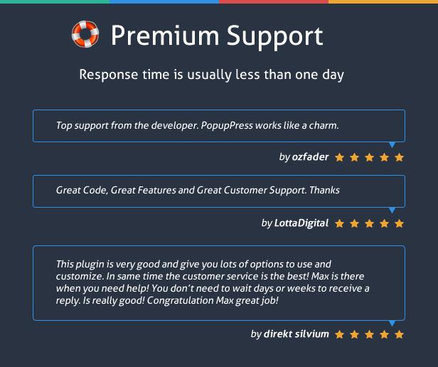 Popup Plugin for WordPress - Popup Press - Popups Slider & Lightbox - 4